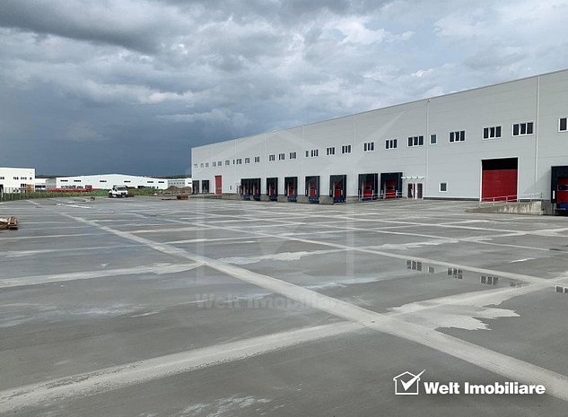 Hala industriala clasa A 5500mp, H 12 m, spatii de birou, Apahida, zona Nervia - imaginea 1