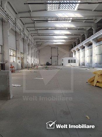 Hala industriala 1200mp, H=10m, acces TIR, Dambul Rotund - imaginea 1