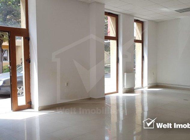 Vanzare spatiu birou, parter cu vitrina mare, zona univ Dimitrie Cantemir - Gara - imaginea 1