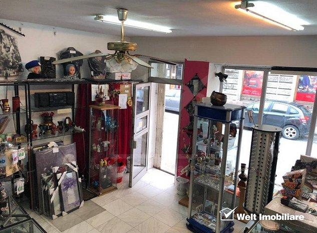 Inchiriere spatiu 35mp vad comercial intens in centrul Cluj - imaginea 1