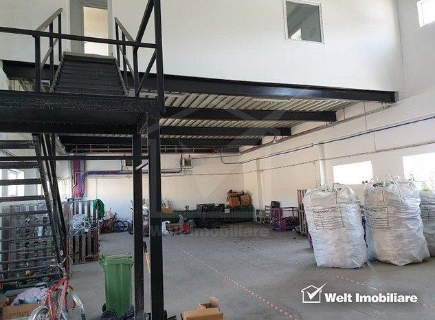 Hala 250 mp situata in Floresti, zona Halelor, pentru productie sau depozitare - imaginea 1