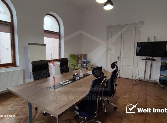 Spatiu birou elegant 160 mp + curte proprie, in Gruia, foarte aproape de centru - imaginea 1