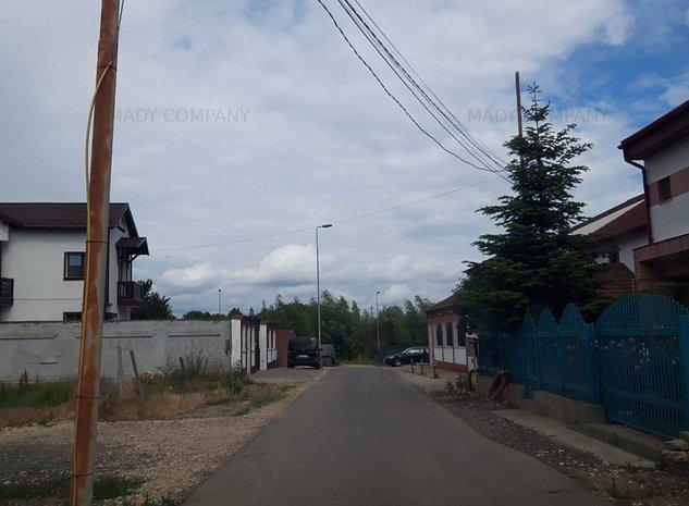kamsas -teren 800 mp , strada asfaltata, utilitati - imaginea 1