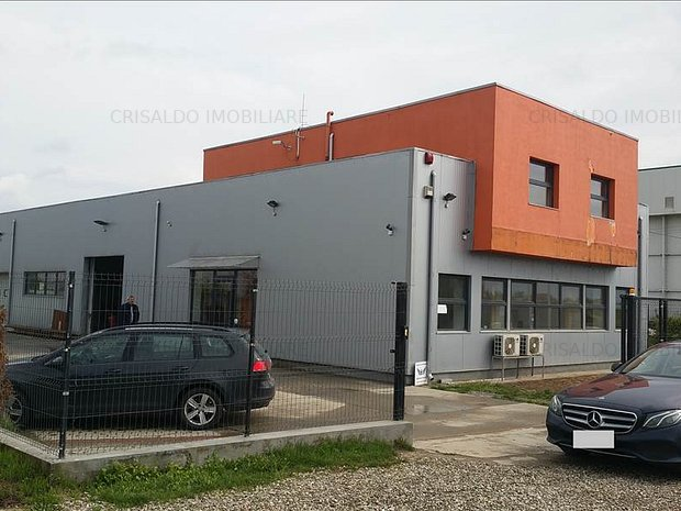 Spatiu industrial/birouri Centura Bucuresti - Dragomiresti - imaginea 1