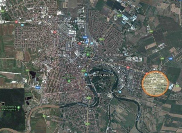 TEREN EXTRAVILAN MICALACA zona REAL PRETABIL INVESTITII - imaginea 1
