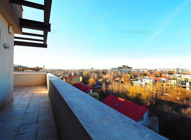 Apartament penthouse cu 5 camere, vedere panoramica, terasa 42mp - imaginea 1