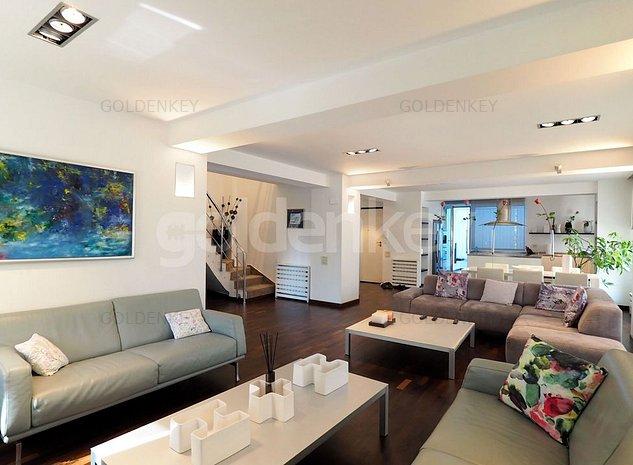 Penthouse duplex modern cu 4-5 camere, vedere libera - imaginea 1