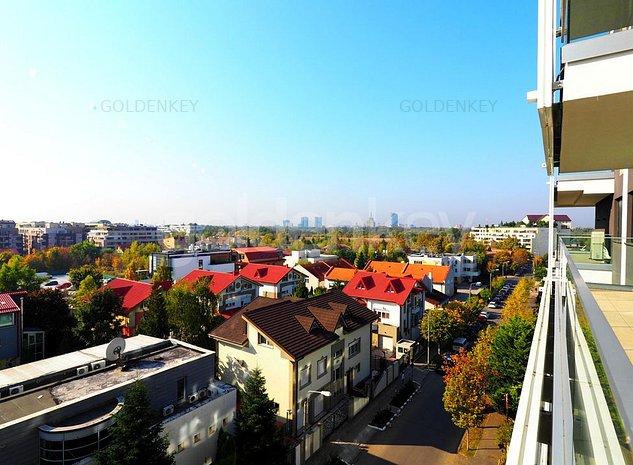 Vedere Parc! Apartament nou cu 3 camere, modern, terasa 16mp - imaginea 1