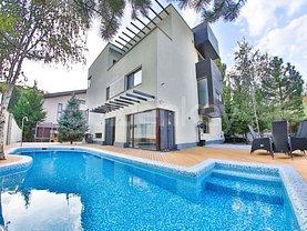 Casa de vânzare sau de închiriat 8 camere, în Bucureşti, zona Pipera