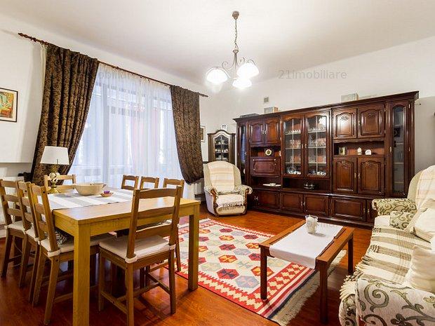Dorobanti - Roma, apartament 5 camere, 180 mp, etaj 2/3, terasa, garaj - imaginea 1