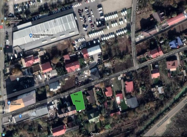 Teren intravilan ,intre case ,aproape de DN1,asfalt,toate utilitatile! - imaginea 1