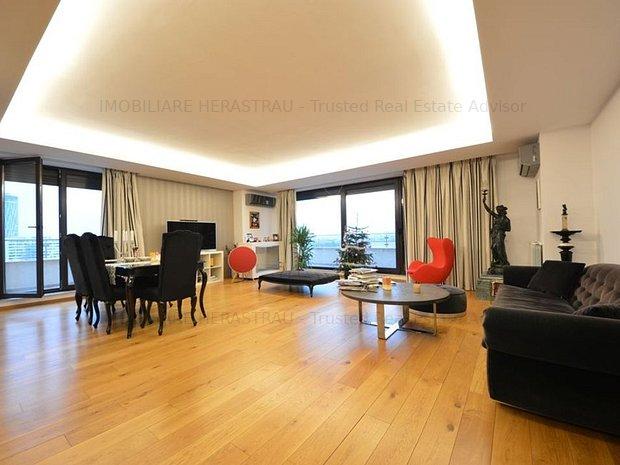 Auctor Bellangero | Penthouse superb cu vedere Lac - imaginea 1