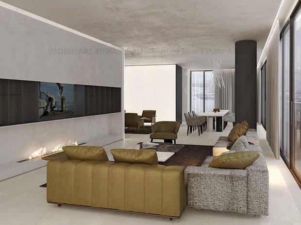 Cortina Residence | Luxury Concept  Penthouse | Vedere la Parcul Herastrau - imaginea 1