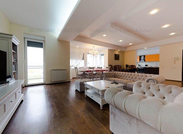 White Baccardi | apartament spatios si luminos la 200 m de Parcul Herastrau - imaginea 1
