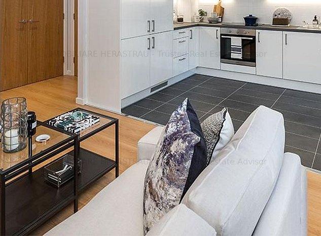 Investeste inteligent   Apartamente LUX Herastrau   Randament 8%   COMISION 0% - imaginea 1