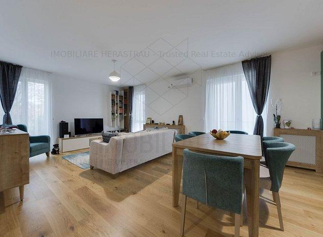 Otto Residence|Apartament cochet la 300m de Parcul Herastrau|Z. Baneasa-Garlei - imaginea 1
