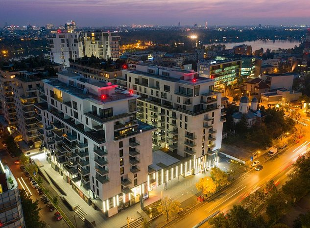 One Herastrau Plaza | Apartament luminos si spatios cu vedere deschisa - imaginea 1
