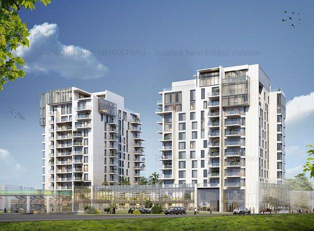 ONE Herastrau Towers | Design Apartments - imaginea 1
