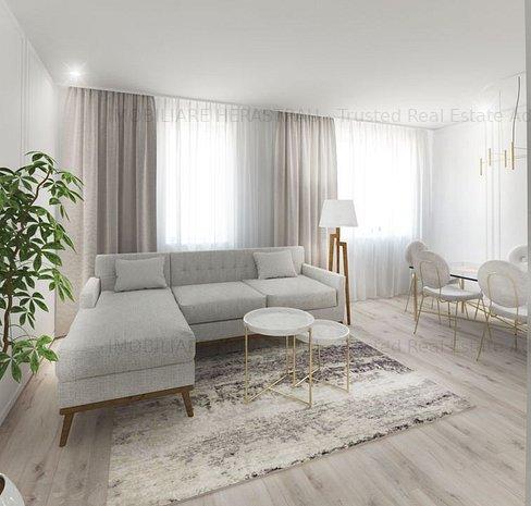 Apartament de lux cu 4 camere in bloc nou finalizat | Zona Unirii - imaginea 1