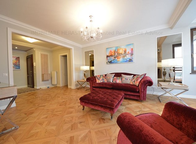 Apartament LUX cu iz interbelic,imobil nou,Dorobanti - imaginea 1