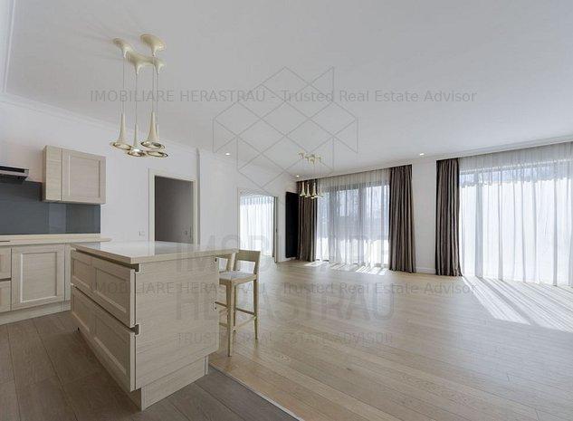 Eriksen Suite 7*   Apartament exclusivist cu terasa si gradina, Lac Floreasca - imaginea 1