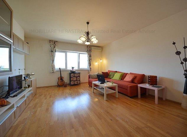 Duplex cu 3 camere in zona Barbu Vacarescu - imaginea 1