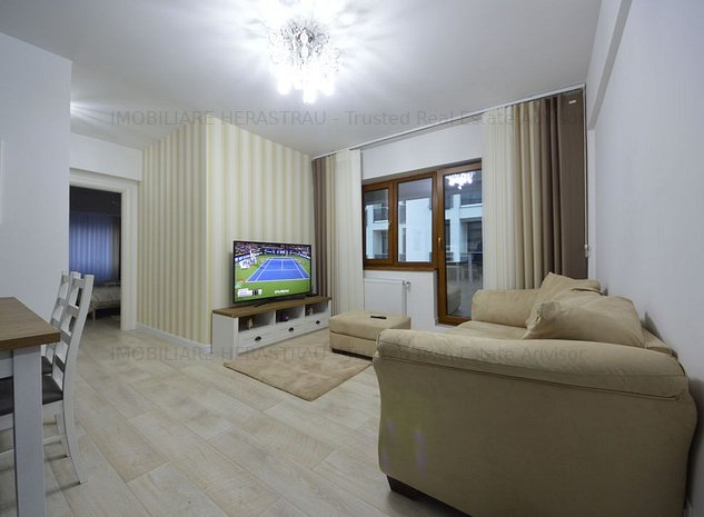 Apartament 3 camere | bloc nou | Zona Barbu Vacarescu-Pescariu - imaginea 1