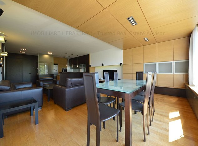 Apartament 3 camere, parcare, vedere Herastrau Parc - imaginea 1