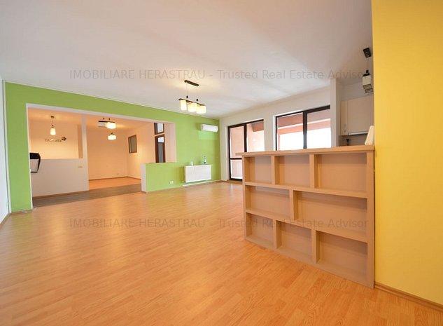 Ideal birou , 2 camere de inchiriat in zona Herastrau - imaginea 1