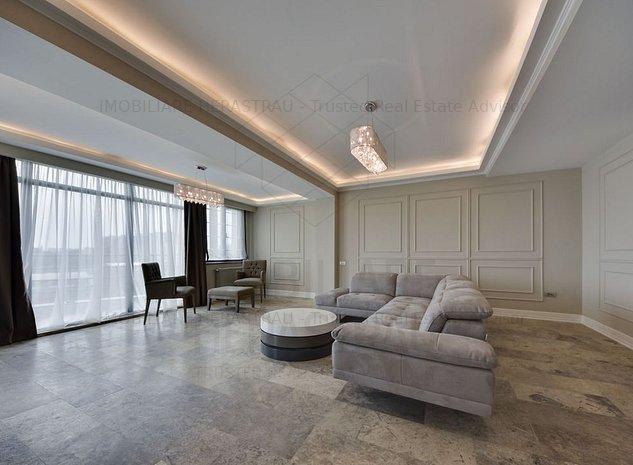Penthouse Duplex cu vedere LAC | Barbu Vacarescu - imaginea 1