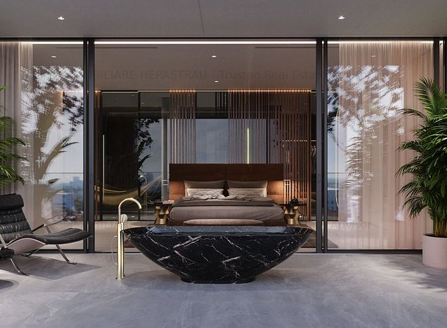 *****WIN Herastrau | Penthouse vedere parc | H max. apartament 3m, terasa 114mp - imaginea 1