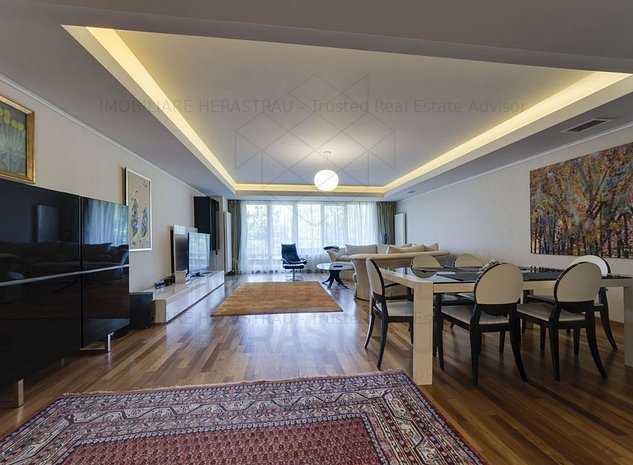 Apartament cu 4 camerede inchiriat-Luxury- Herastrau | Vedere parc - imaginea 1