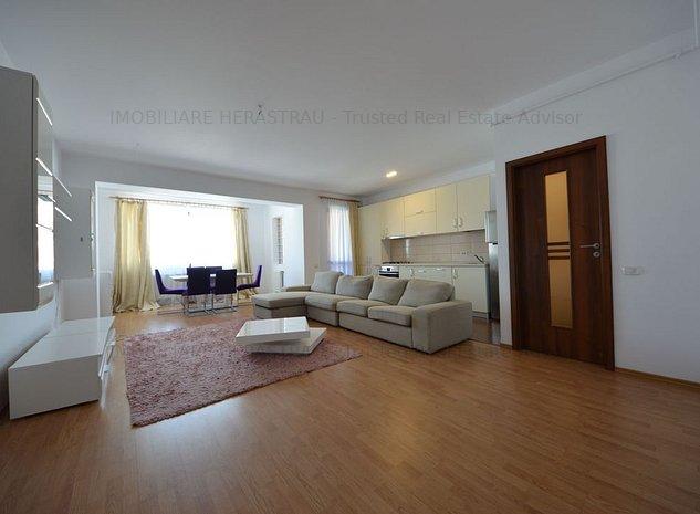 Apartament cu 3 camere de inchiriat in Zona Herastrau - imaginea 1