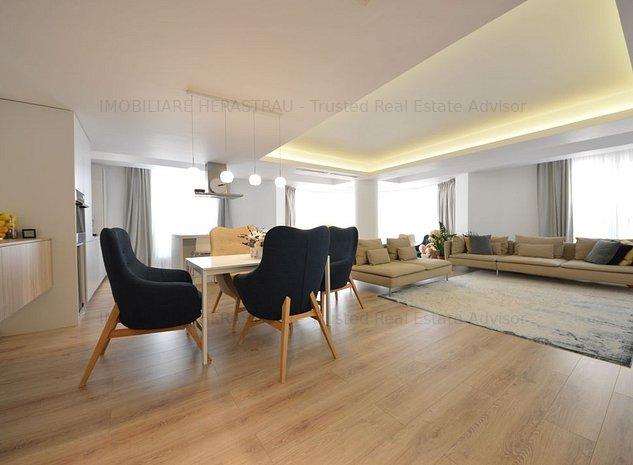 Carlitos Residence |3 camere de vanzare in zona Herastrau | SUPERB - imaginea 1