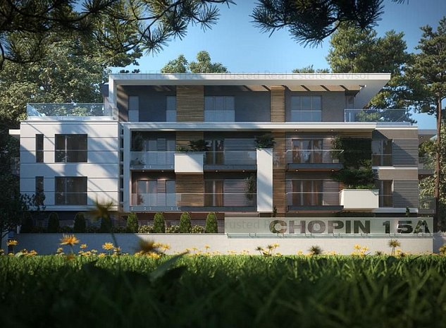 Chopin 15A | Luxury Penthouse | Boutique Apartments - imaginea 1