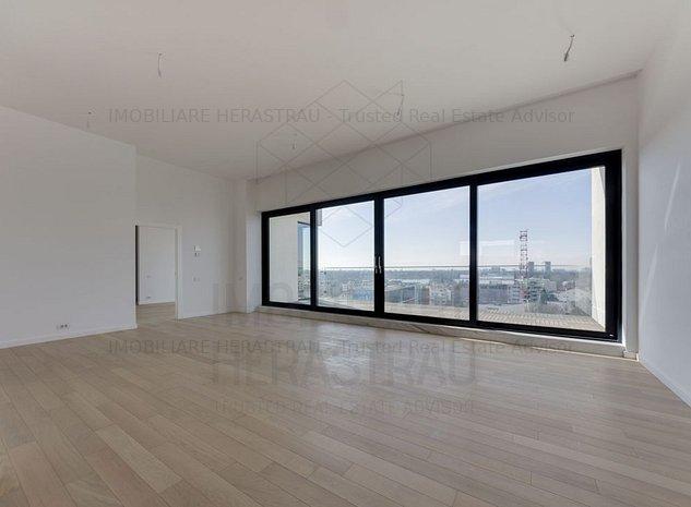 One Herastrau Plaza | Luxury Penthouse | 5 rooms 2 parking spots - imaginea 1