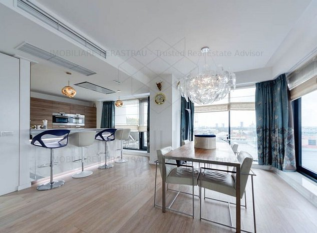 One Herastrau Plaza | LUXURY duplex cu o superba vedere panoramica - imaginea 1