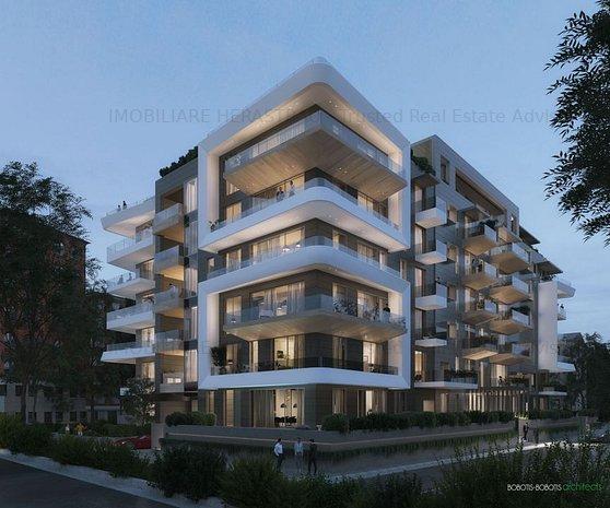 Floreasca Luxury 3 bedrooms | Bobotis Architects concept apartments Comision 0% - imaginea 1