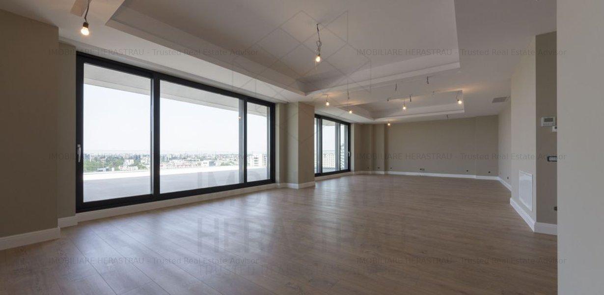 Apartament Penthouse | vedere Parc Herastrau | 5 camere, 350 mp si terasa 67 mp - imaginea 1