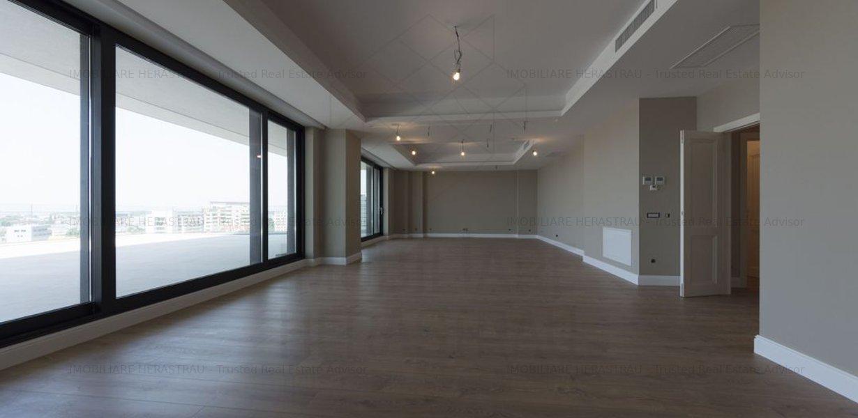 Apartament Penthouse | vedere Parc Herastrau | 5 camere, 350 mp si terasa 67 mp - imaginea 4