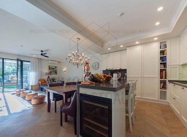 Travis Suite 7* | Luxury apartment with large terrace | Floreasca Lake - imaginea 1