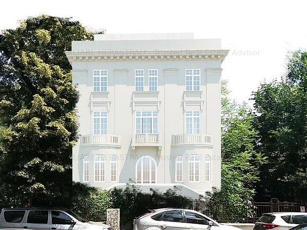 Vila Varsovia | proiect ambitios cu 9 camere de vanzare in zona Dorobanti - imaginea 1