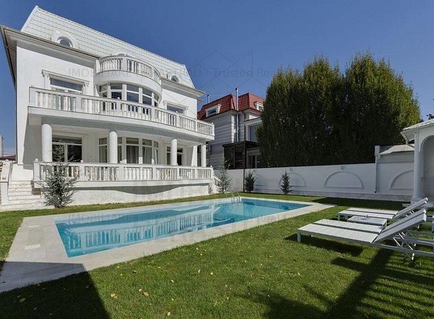 Maison de Bourbon | Vila exclusivista Herastrau | Teren 1200mp | Comision 0% - imaginea 1