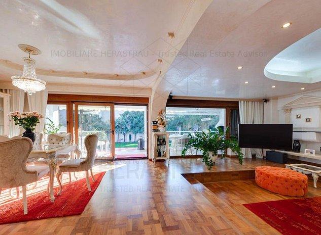 Chatenay Residence | Vila 8 camere de vanzare Herastrau | Teren 900mp - imaginea 1