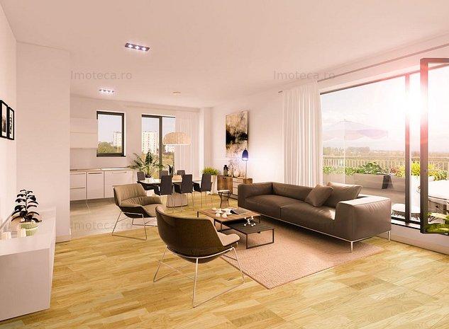 Apartament cu 4 camere de vanzare in zona Baneasa - Iancu Nicolae - imaginea 1