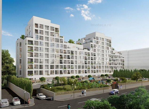 Apartament cu 4 camere tip duplex de vanzare in zona Baneasa-Iancu Nicolae - imaginea 1