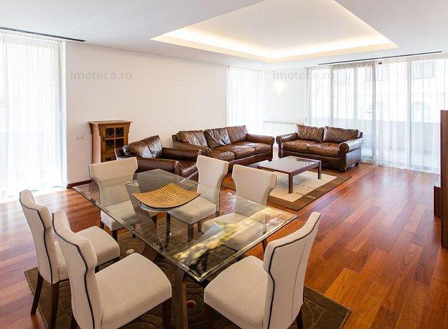 Apartment  luminos si spatios - terasa circulara - imobil intim - imaginea 1