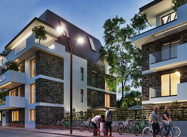 Apartament 4 camere duplex - Sunset Lake Homes - zona Straulesti - imaginea 1
