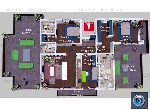 Apartament 4 camere de vanzare, zona Alb: Apartament 4 camere de vanzare, zona Albert, 128 mp