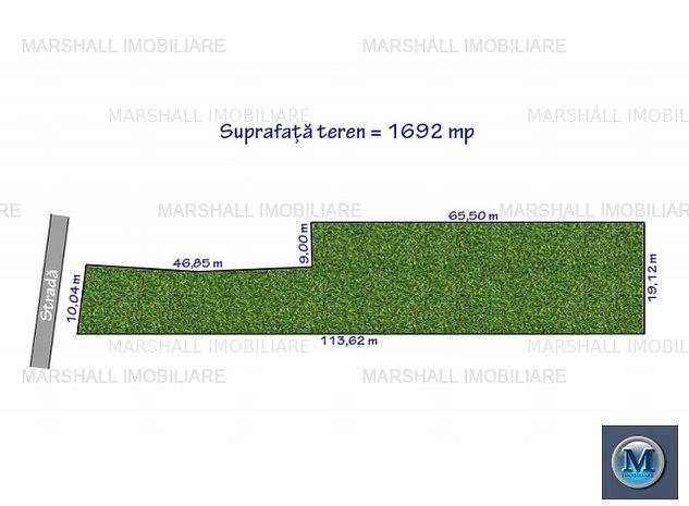 Teren intravilan de vanzare in Paulestii: Teren intravilan de vanzare in Paulestii Noi, 1692 mp